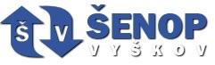 Šenop- výtahy -VYŠKOV logo
